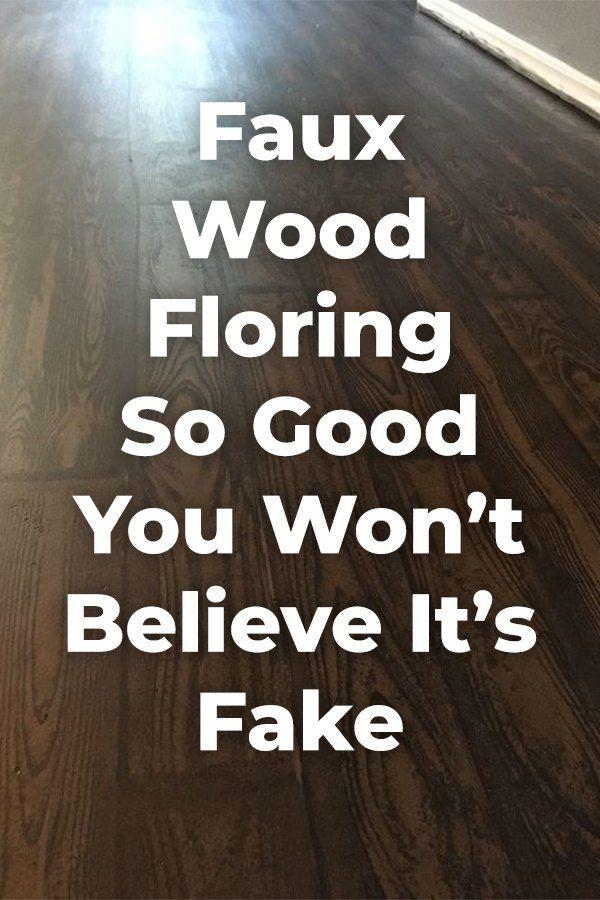 How To Transform Your Old Carpet And Linoleum Floor To Faux Wood Faux Wood Flooring Diy Flooring Diy Wood Floors