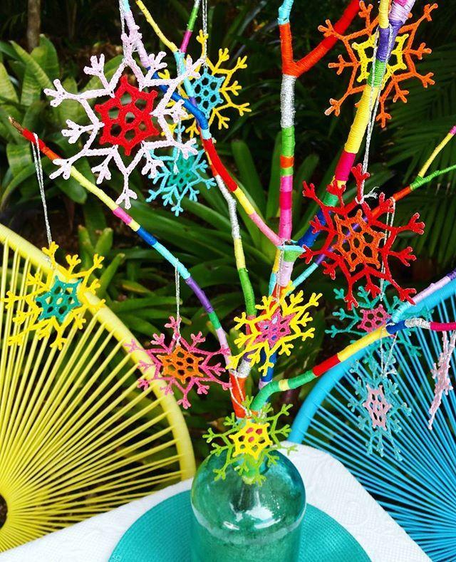 Crochet Sunflakes