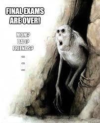 Znalezione obrazy dla zapytania final exam meme