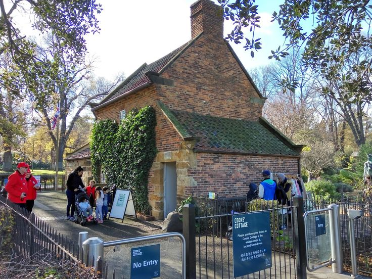 Captain Cook's Cottage and Fitzroy Gardens, Melbourne Australia