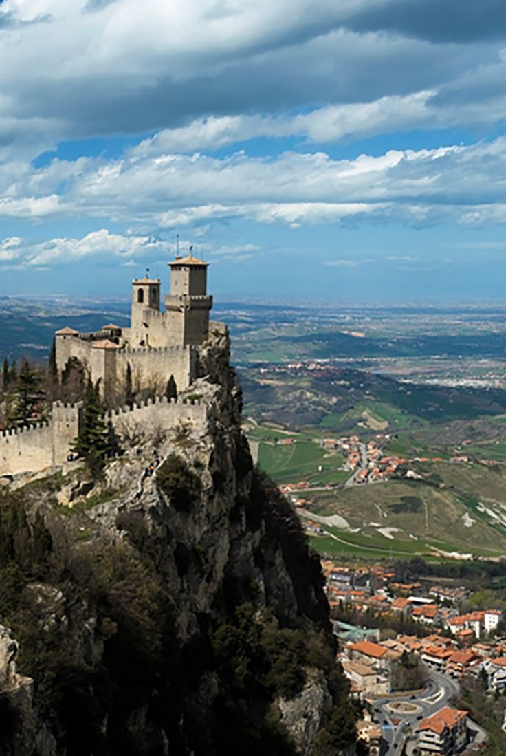 Take a ride to the castles of San Marino while in port in ...