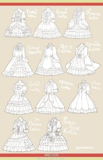 Lolita. Clothes.