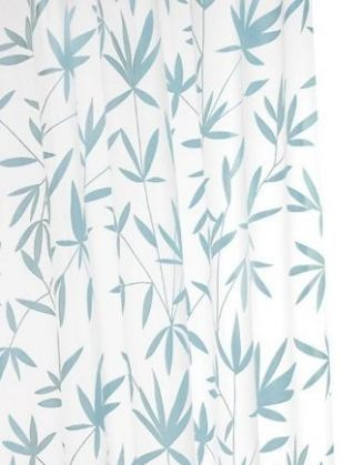 Bamboo teal shower curtain (Showerail)
