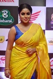 Image result for yellow saree shamna kasim