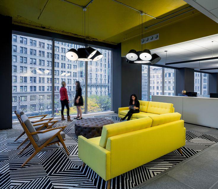 Initiative Media New York City Offices Office Interior DesignOffice