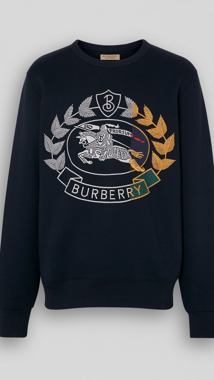 Men S Designer Hoodies Sweatshirts Burberry Official Mens Sweatshirts Hoodie Vintage Outfits Sweatshirts [ 1280 x 720 Pixel ]