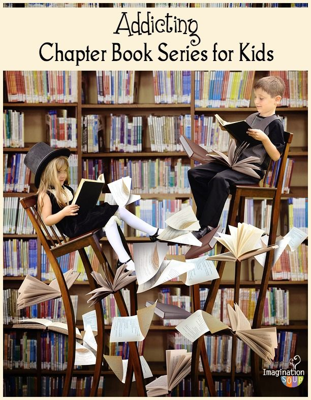 lesser known but still addictive chapter books series for kids #Books #Kids #Chapter_Books