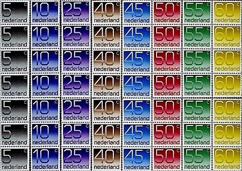 Postzegels jaren tachtig