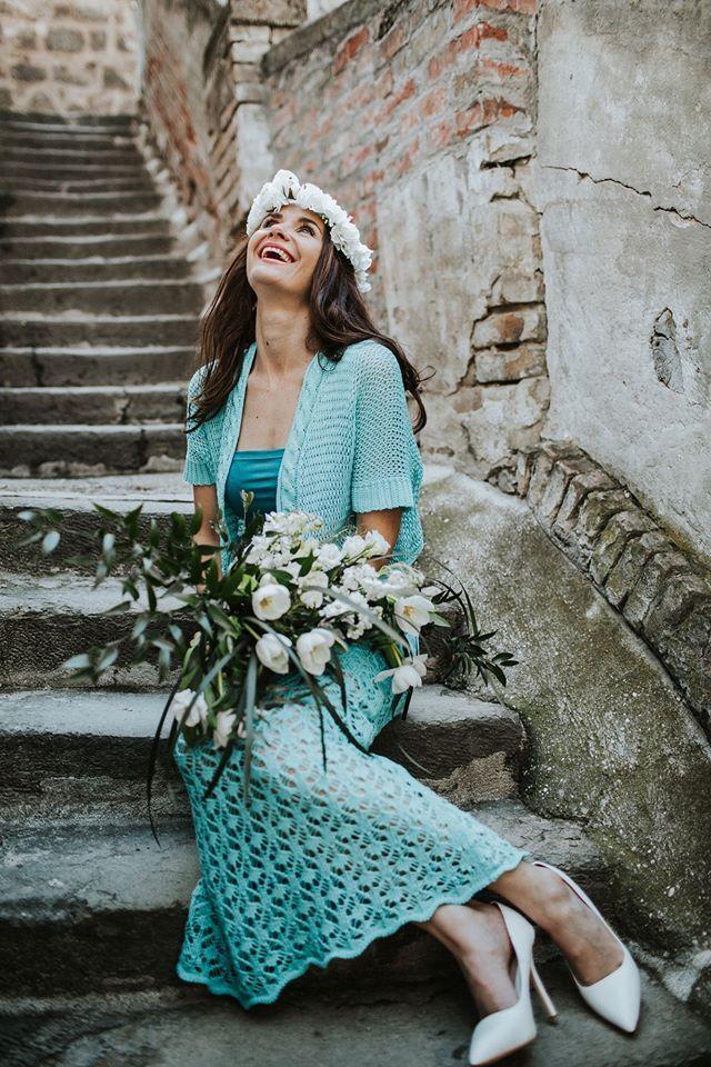 türkiz szoknya, turquoise skirt, knitted, lace,suel, women's clothing