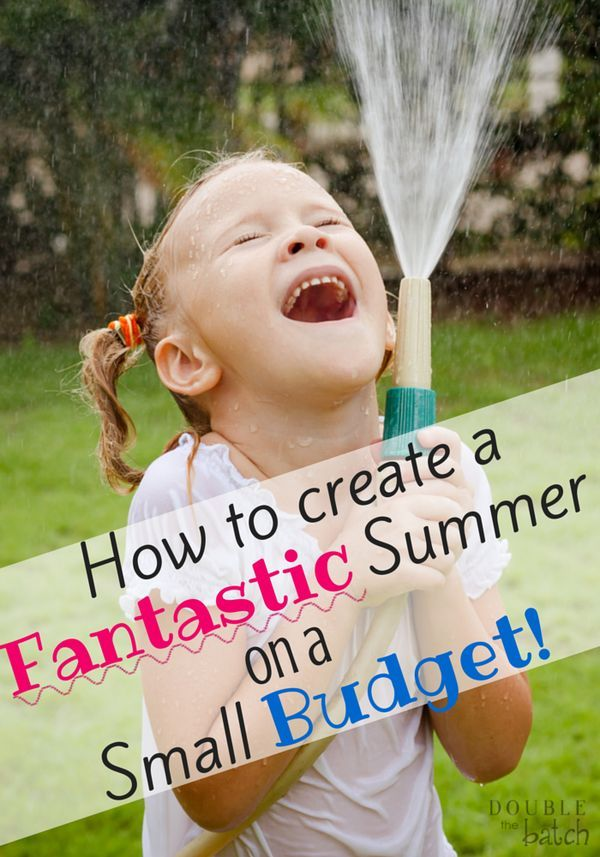 Such great ideas that require little or no money for fun summer activities! I'm really looking forward to this summer with my kids!