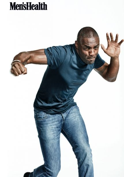 Idris Elba for 'Men's Health'