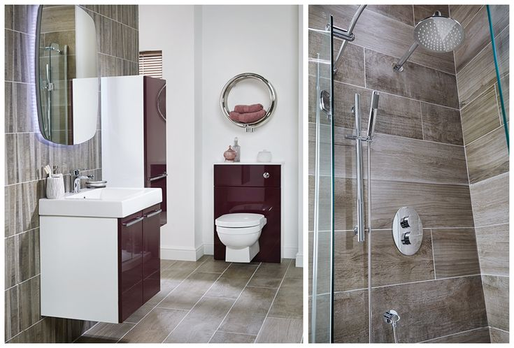 Parquet weathered elm and weathered elm tiling #youmodular #bathroomfurniture #myutopia