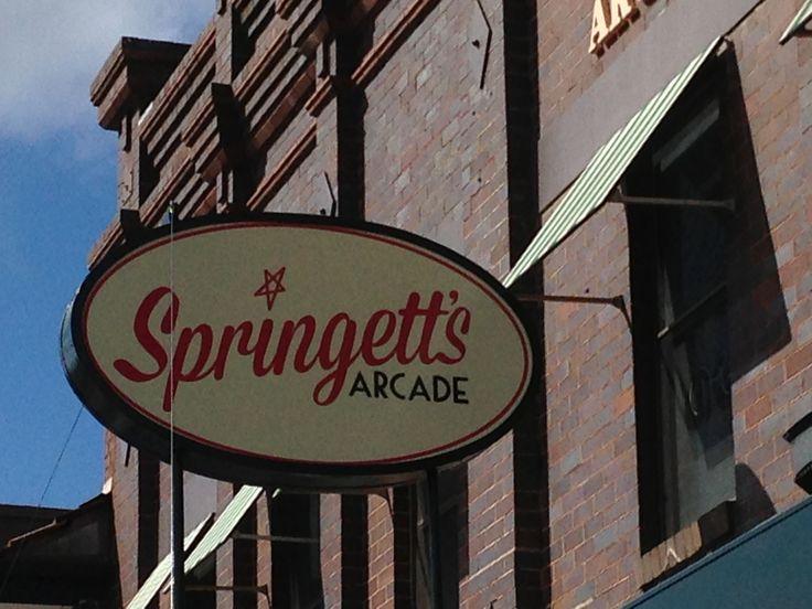 Springett's Arcade on Bong Bong St, Bowral NSW