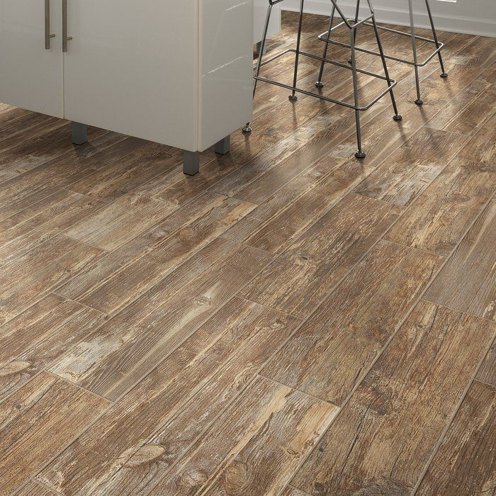 Tampico Is A Value Engineered Wood Look Ceramic Tile The Stylish Reclaimed Hardwood Visual Comes In A Plank In A Beautiful P Wood Look Tile Flooring Hardwood