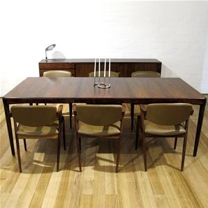 HW Klein Rosewood DIning Table