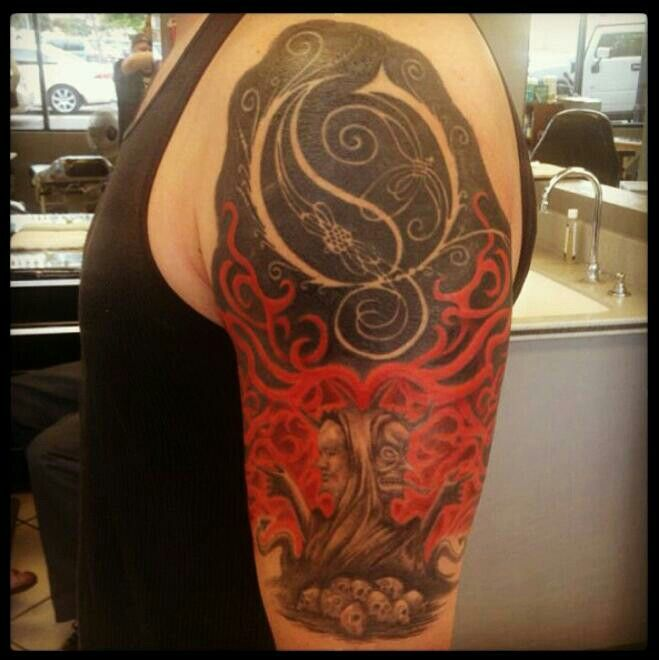 Awesome Opeth tattoo | Tattoos, Tatt, Tatting