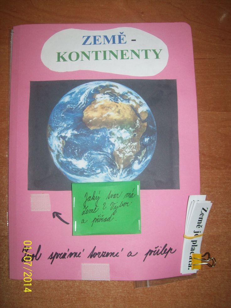 Lapbook Kontinenty