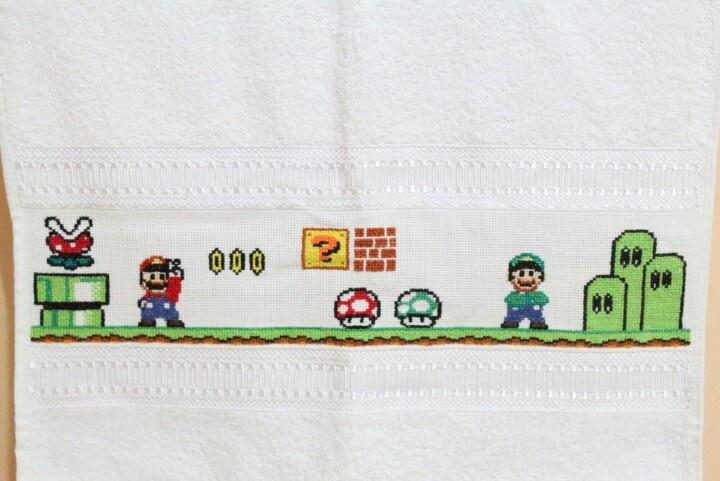Mario Bross - Punto cruz