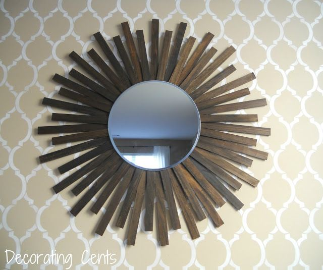 After: Wooden Mirror