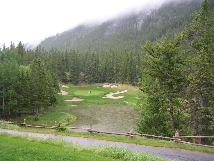 Banf Springs golf course, Banf, Alberta, Canada.