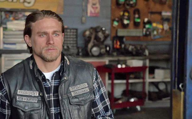 Charlie Hunnam had to keep showing us that Jax had made peace with his decision. Watching the boys leave with Wendy and Nero was one of the few times we got to see Jax's pain.