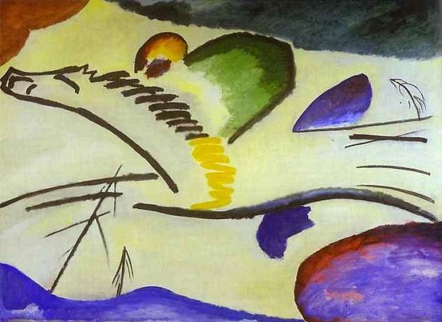 A Pioneer of Abstract Art: �Wassily Kandinsky (1866-1944) � � Wassily Kandinsky was born Moscow in 1866, the son of Lidia Tikheeva and Vasily Kandinsky,��a successful tea merchant. Kandinsky�s pare�
