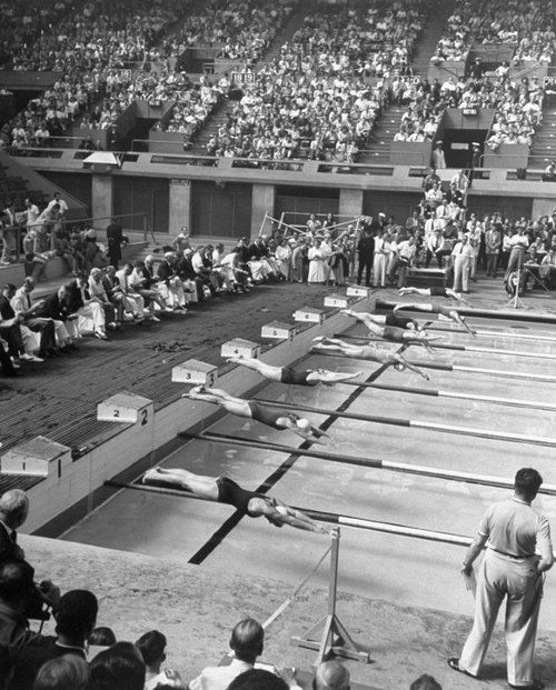 Swimming at the London Olympics, 1948