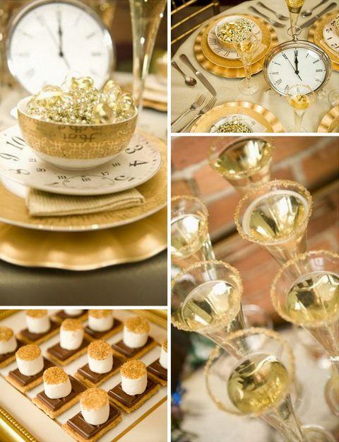 Cute ideas for New year's eve wedding
