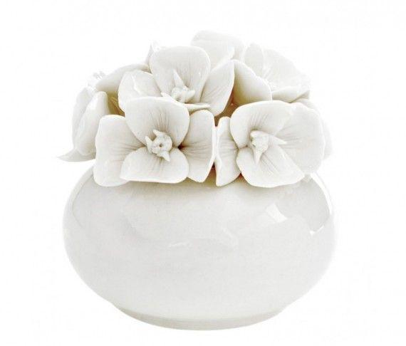 Diffusore Tondo Piccolo White Daisy Cm 7 - Atelier Creative