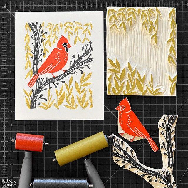Cardinal scene | Andrea Lauren | Use Instagram online! Websta is the Best Instagram Web Viewer!