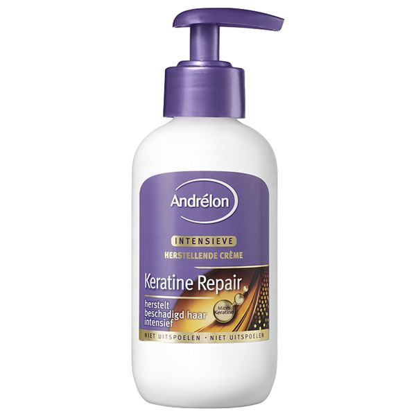Andrelon Hair Style: Hair Styling Hair Cream Keratin Repair.