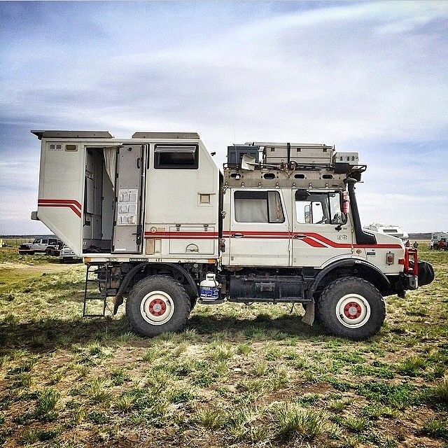 The is the best camper truck, ever.  ================================= ultimative Camper ;-)