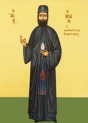 MYSTAGOGY: Russian Orthodox Officially Glorify St. Ephraim of Nea Makri a Saint