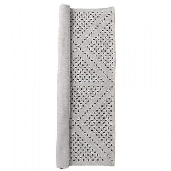 Bloomingville grijs vloerkleed met dots print 140 euro 135x195cm