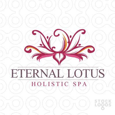 beautiful lotos flower design.