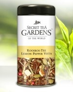 Lemon Pepper Vista Rooibos Tee Lemon-Aroma von Secret Tea Gardens http://www.gourvita.com/de/eilles-tee-shop/trend-tee-teeladen/lemon-pepper-vista-rooibos-tee-lemon-aroma-von-secret-tea-gardens.html