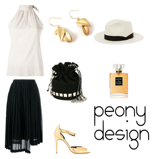 Peony Design by teri-peony on Polyvore featuring Eleventy, N°21, Rupert Sanderson, Tomasini, rag & bone and Chanel