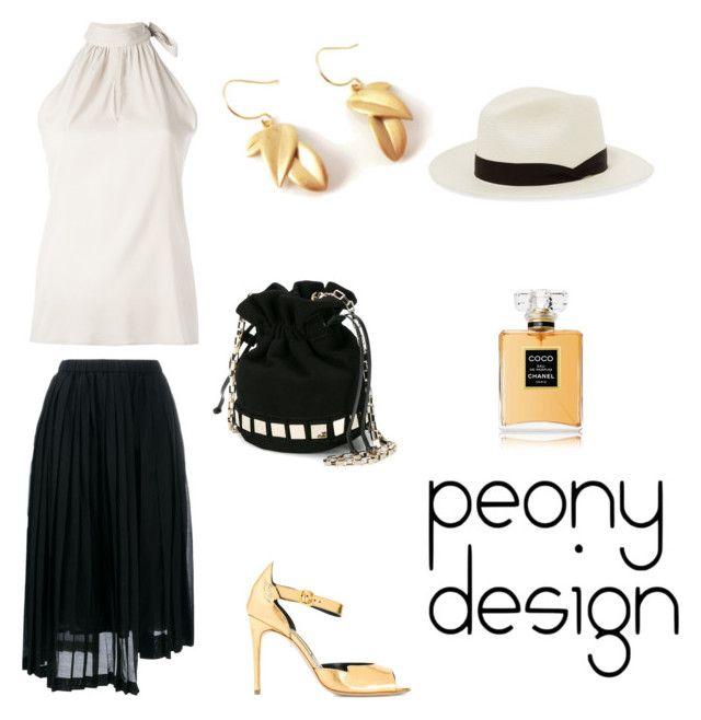 Peony Design by teri-peony on Polyvore featuring Eleventy, N°21, Rupert Sanderson, Tomasini, rag & bone and Chanel