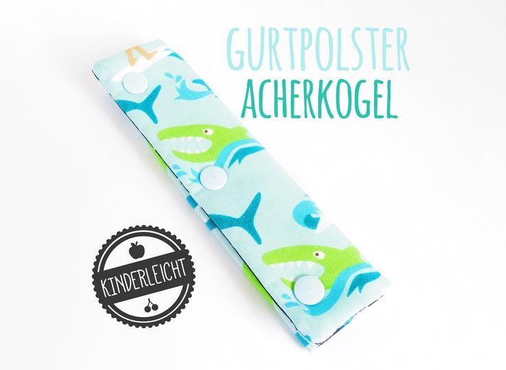 """Hier kommt unsere zweite Version des Gurtpolsters: Der """"Acherkogel"""" Mit seinen b u n t e n Kam-Snaps (Druckknöpfen) verleihs..."""