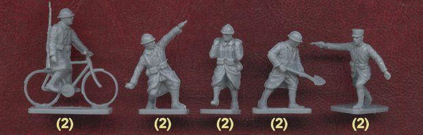 Plastic Soldier Review - Airfix WWI French Infantry