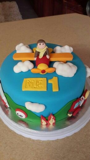 Plane Birthday cake 2