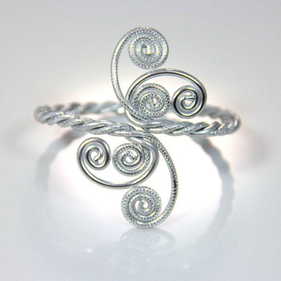 Bracciale contorte spirali
