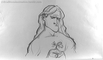 Tarzan - Glen Keane #gifDisneyOneReason Pencil tests Hand-Drawn Animations GIF From Disney Films