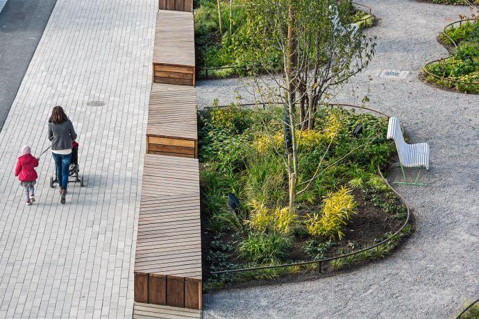 Stora torget Barkarbystaden White arkitekter