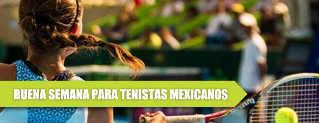 Este fin de semana culmina una semana de lujo para el tenis mexicano en el cual la raqueta no. 1 del país, Marcela Zacarías de 21 años, continúa con su tendencia ascendente al avanzar doce posiciones en el ranking de la WTA.   Zacarías ganó el Futuro de Ciudad Obregón tanto en singles como en dobles de pareja de otra tenista azteca, Victoria Rodríguez. Con su victoria, Marcela avanzará la siguiente semana en el ranking de la WTA del no. 230 al peldaño 218.  En otros frentes, Miguel Ángel…