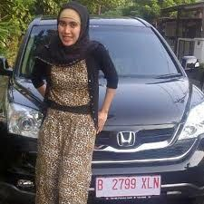 Me and my CRV from Oriflame Juni 2012