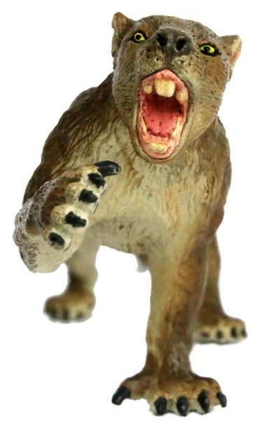 Southlands Marsupial Lion Thylacoleo figurine front view