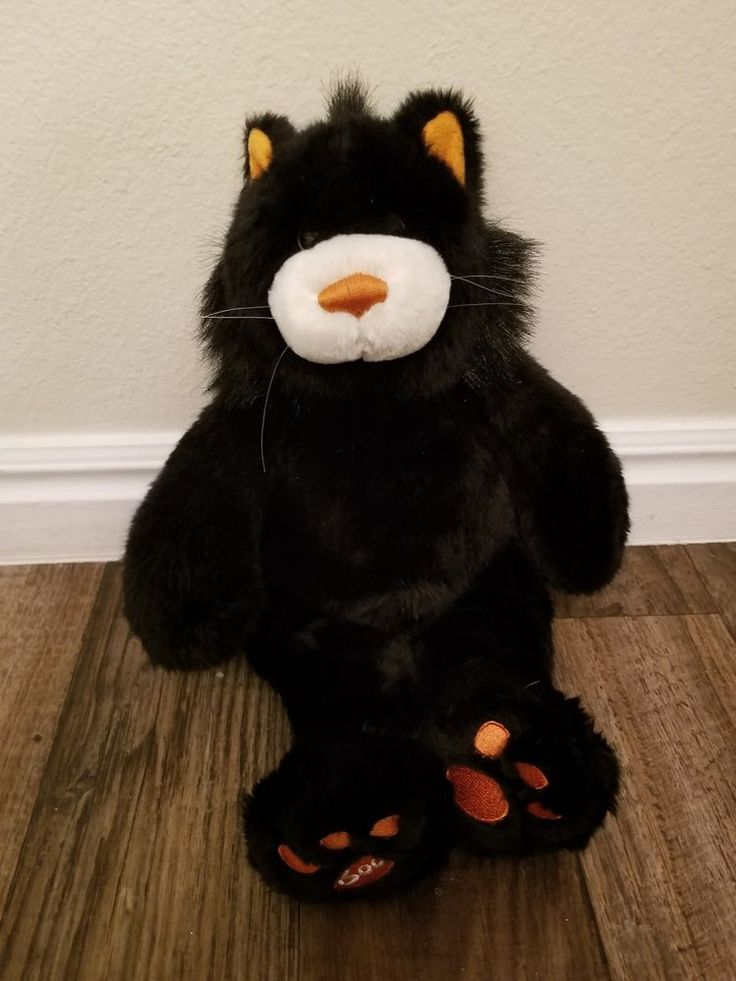 build a bear Halloween cat #BuildABearWorkshop #Halloween