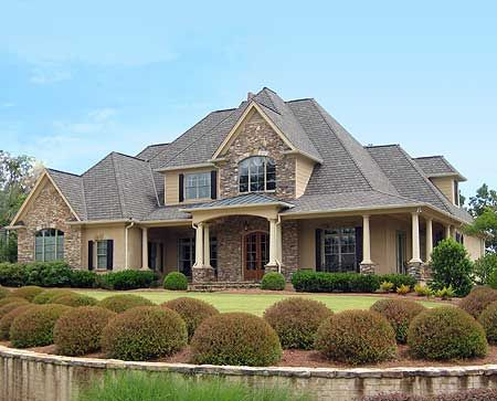 Plan W24356TW: Southern, Photo Gallery, European, Corner Lot, Traditional House Plans & Home Designs