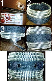 Zipper-bracelet